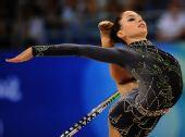 图文:艺术体操个人全能资格赛况 以色列伊里娜