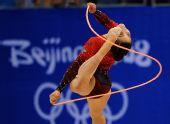 图文:艺术体操个人全能资格赛况 南非奥黛特