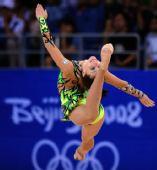 图文:艺术体操个人全能资格赛况 以色列选手