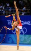 图文:艺术体操个人全能资格赛况 白俄罗斯选手