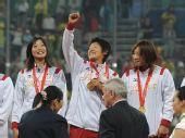 图文:垒球日本队夺冠 日本队队员上野由岐子
