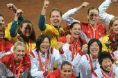 图文:垒球期待再见2016 北京奥运会垒球总决赛