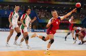 图文:手球女子半决赛俄罗斯胜匈牙利 乌斯科娃