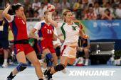 图文:手球女子半决赛俄罗斯胜匈牙利 皮萝什卡