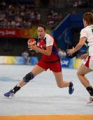 图文:手球女子半决赛俄罗斯胜匈牙利 叶连娜