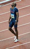 图文:男子400米梅里特夺冠 梅里特夺冠庆祝