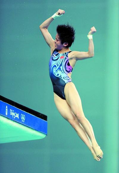 陈若琳凭借出色的发挥后来居上夺得冠军 新华社发