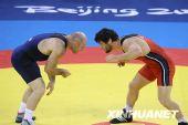 图文:男子自由式84公斤级 格鲁吉亚选手夺冠