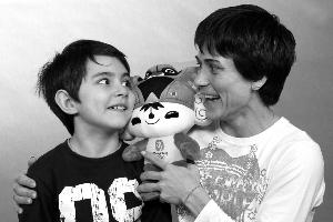 祝福丘索维金娜和儿子永远幸福 供图CFP