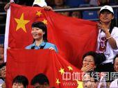 图文:乒乓球女单郭跃胜李佳薇得铜 热情的观众