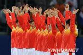 曲棍球女子颁奖仪式 中国球员虽败犹荣(组图)