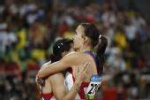 图文:女子4X100米接力俄罗斯夺金 俄尤丽娅
