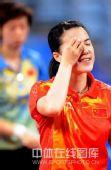 图文:女单决赛张怡宁成功卫冕 王楠很失望