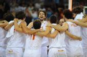 图文:男篮半决赛西班牙队晋级决赛 加索尔