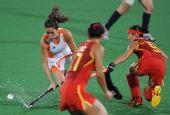 图文:曲棍球女子荷兰队夺得冠军 荷兰队球员