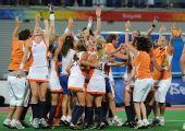 图文:曲棍球女子荷兰队夺得冠军 2比0胜中国队