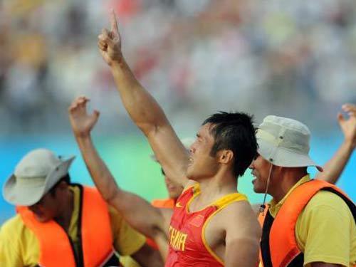 图文:男双划艇孟关良/杨文军卫冕 我们最棒
