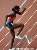 图文:女子4x400米决赛美国队夺金 加速冲刺
