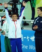 图文:男子10米跳台 托马斯・戴利获得第七名