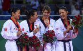 图文:跆拳道女子67公斤以上级决赛 威选手索尔