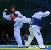 图文:跆拳道女子67公斤以上级决赛 胜挪威选手
