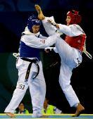 图文:跆拳道女子67公斤以上级 史蒂文森战胜