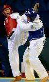 图文:跆拳道女子67公斤以上级 史蒂文森获胜