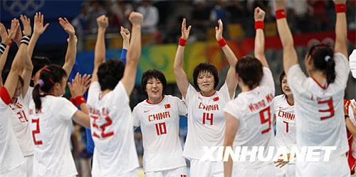 中国女子手球队:因为坚持所以喜欢(图)金家漕手球小学图片