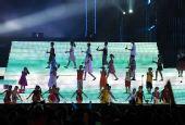 图文:奥帆赛闭幕晚会在青岛举行 儿童献上节目