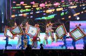 图文:奥帆赛闭幕晚会在青岛举行 传统戏曲节目