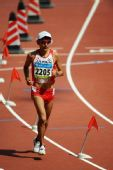 图文:男子马拉松赛况 日本选手佐藤敦之