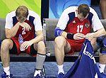 组图:奥运赛场上那些伤心失意的男人们