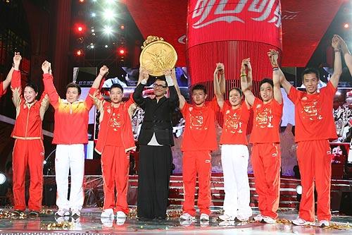 张学友携手众多奥运冠军启动