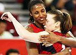 组图:美国女篮战胜澳大利亚获得奥运会冠军