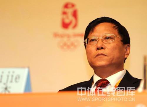 图文:中国军团新闻发布会 副团长段世杰