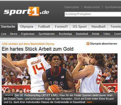 sport1:艰苦战役后夺金