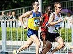 原创组图:8.24男子马拉松精彩追拍