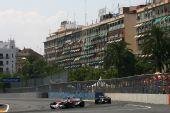 图文:[F1]欧洲大奖赛正赛 丰田领先红牛