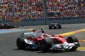 图文:[F1]欧洲大奖赛正赛 格洛克在比赛中