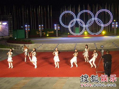美丽音符与奥运五环