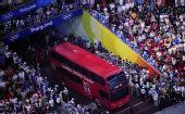 """图文:奥运会闭幕式:""""伦敦8分钟"""""""