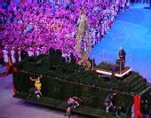 """图文:奥运会闭幕式:""""伦敦8分钟"""" 隆重举行"""