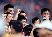 图文:告别北京奥运会 中国代表团运动员入场
