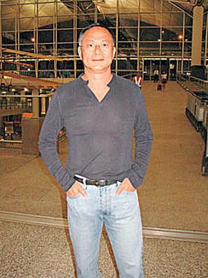 杜琪峰前晚出发到威尼斯。