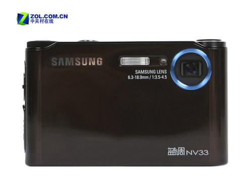 800万像素多媒体卡片机 三星NV33套装促销