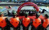 图文:浙江海警完成奥帆赛安保任务 欢迎仪式上