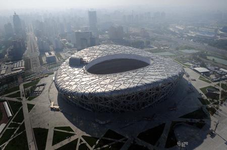 """""""鸟巢""""是中国首尝PPP经营模式的体育馆。"""
