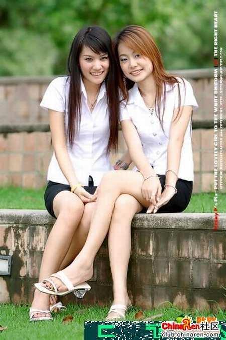 组图:泰国暹罗大学清纯美女生活实照 搜狐音乐 竖