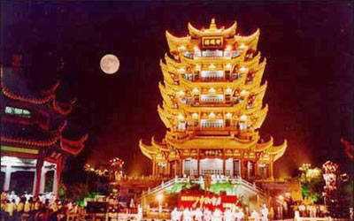 北京残奥会火炬接力途经城市:武汉