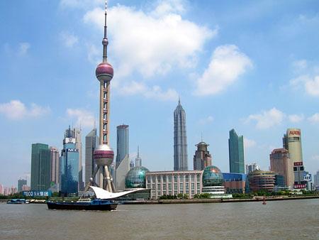 北京残奥会火炬接力途经城市:上海